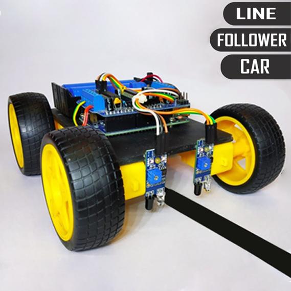 DIY Arduino Line Follower Car